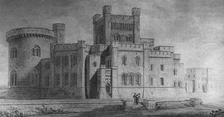 Drawing of the house as designed by Thomas Hopper in 1819-21