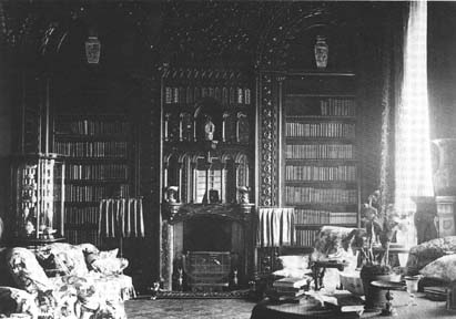 The library of the 3rd Earl at Gosford Castle