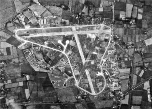 Aerial Photograph of Long Kesh, 28 July 1942