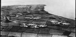 Hundreds of aircraft stored at Langford Lodge, August 1944
