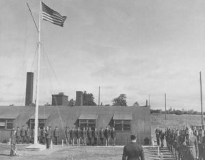 RAF to USAAF handover ceremony of Toome on 26th July 1943