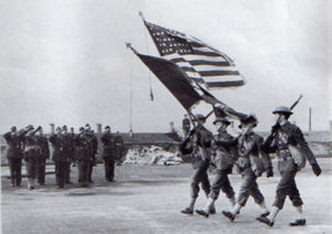 ebrington colour party us army