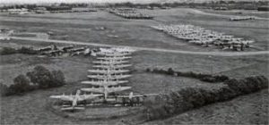 New unused Stirling Bombers waiting to be scrapped at Maghaberry